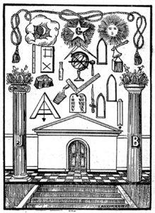 Vrijmetselaars symboliek